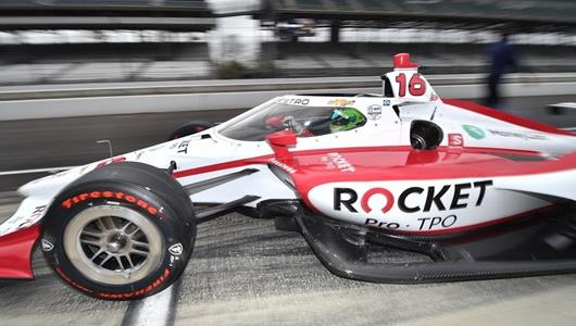 De Silvestro, Paretta Autosport Savoring Magic First Moments Together at Indy