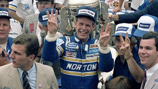 Three-Time Indianapolis 500 Winner, Bobby Unser.