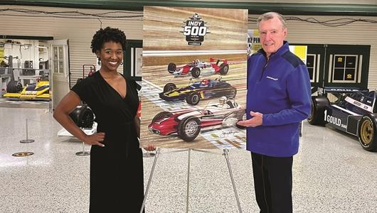 2021 Indianapolis 500 Official Program Featuring Rutherford Art On Sale Now