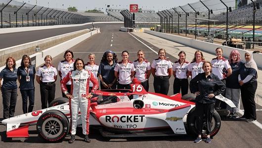 Hard Work Fueling Dreams for Female Crew at Paretta Autosport