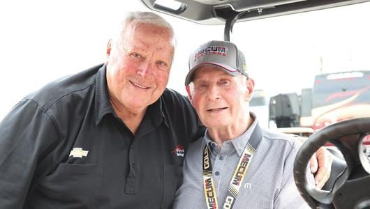Parnelli Savors Return to Speedway to See Friends, Famous Cars