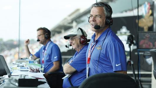 Bestwick Honored To Lend Voice to IMS Public Address during May
