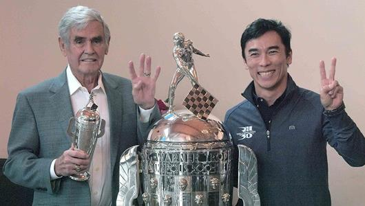 Worth the Wait: Unser Receives Retro 'Baby Borg' for 1970 Victory