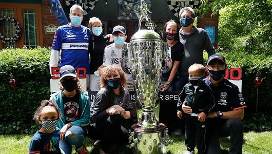 Indy 500 Drivers Make House Calls To Thank Central Indiana Fans