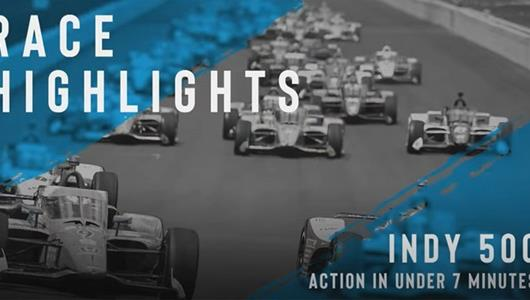 Indy 500 Race Highlights