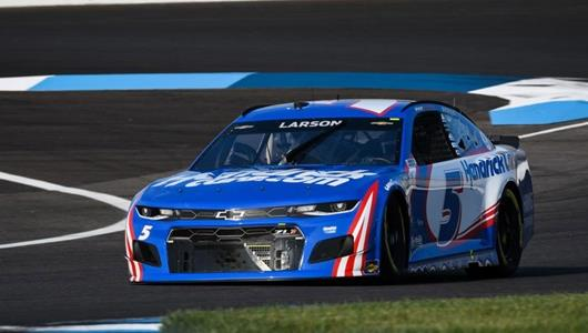Disappointed Larson Hopes To Resume Magical Victory Tour in BC39 at IMS