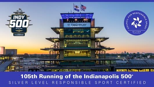 Indianapolis 500 Gains Distinction with Responsible Sport Certification