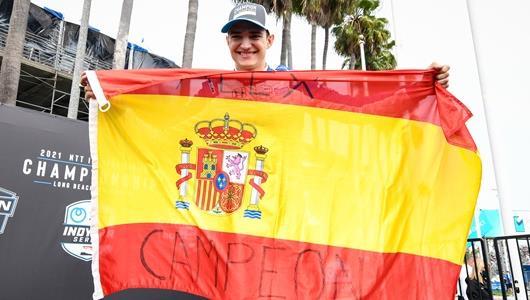 Alex Palou Spanish Champion