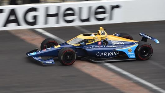 jimmie johnson indy 500 rop