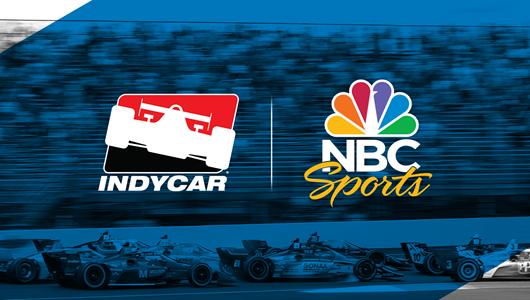 INDYCAR and NBC Sports logo
