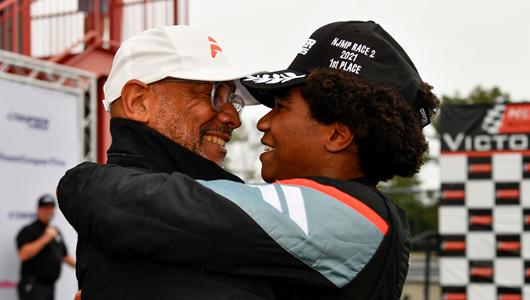 Rowe, Force Indy Leader Reid Overjoyed To Reach Racing Milestone