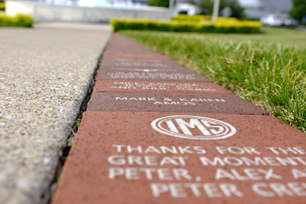 Commemorative Brick Program at IMS