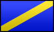 Blue and Gold Flag