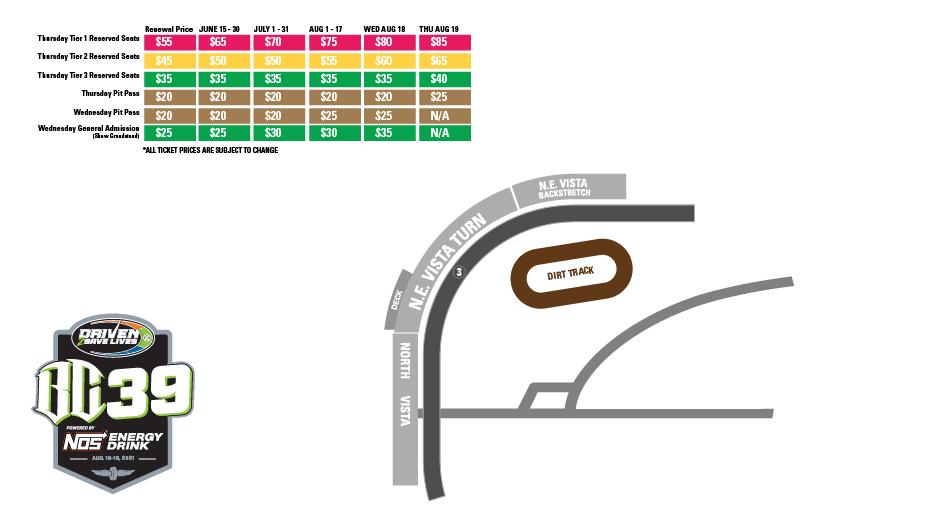 BC39 Ticket Prices