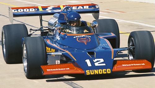 Bobby Allison Signed Indy 500 8 X 10 Car Photo Indianapolis 1975